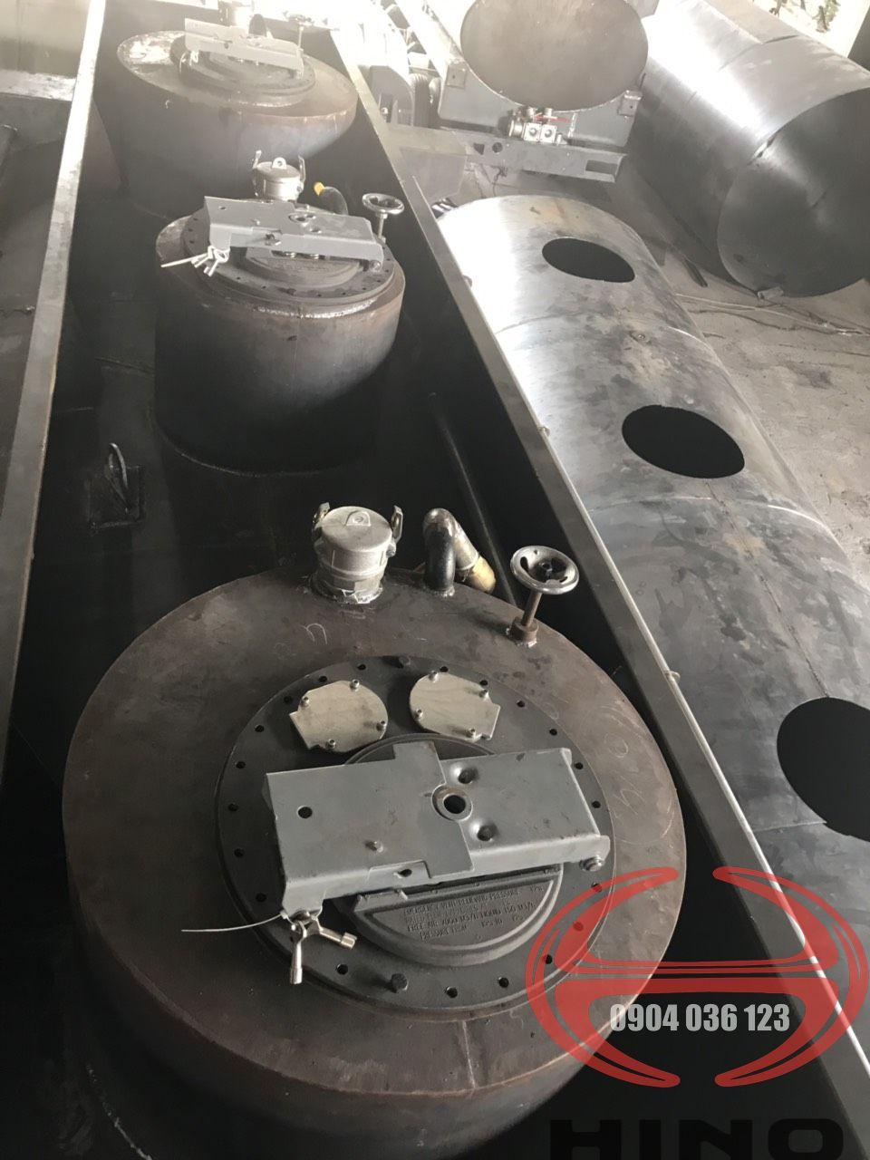 xe bồn hino 6 khối 2019