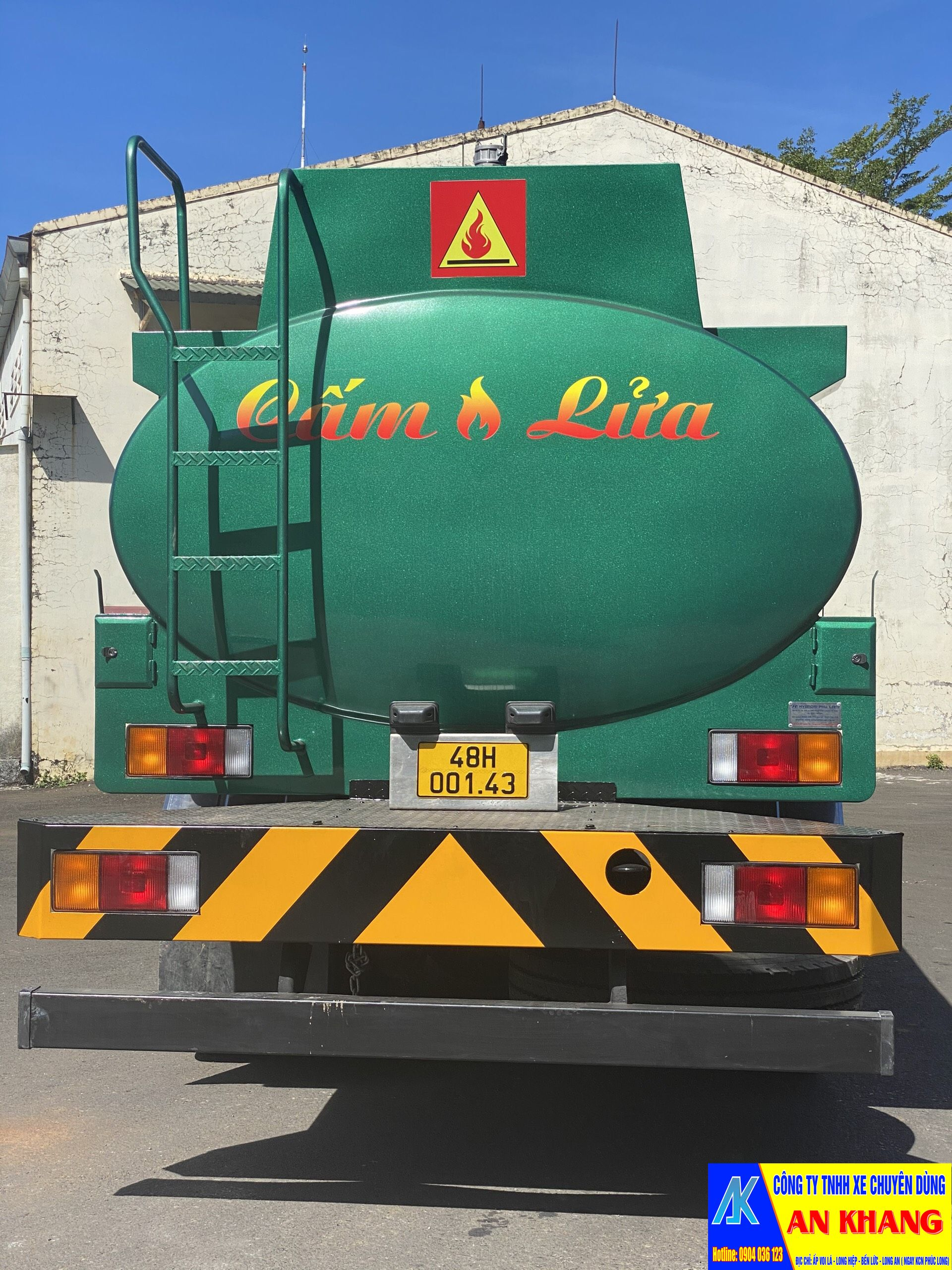 xe bồn chở xăng 22 khối